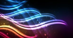 Rainbow Color Tentacles Abstract Wallpaper