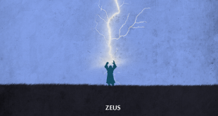 Zeus, the character in the game Dota Wallpaper